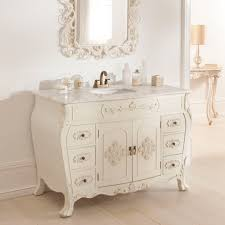 Antique French Vanity Unit Shabby Chic Bathroom Furniture