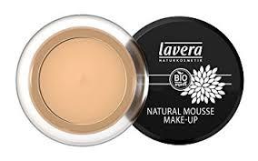 lavera natural mousse make up honey 3