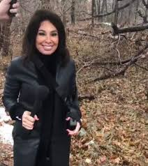 Jeanine Pirro Literally Searching For Hillary In Chappaqua Woods |  Chappaqua Daily Voice