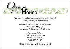 Invitation To Open House 11 Best Open House Invite Images Business Invitation Invitation