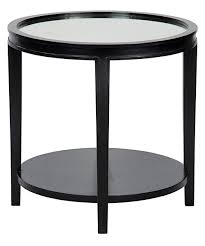 Imperial Coffee Table Noir Imperial Side Table Hand Rubbed Black Furniture Tables