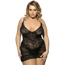 Plus size sexy lingerie womens clothing