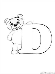 Letter D Kleurplaat Gratis Kleurplaten