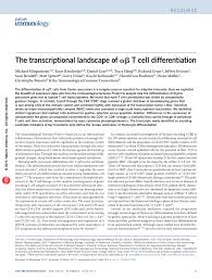 The transcriptional landscape of αβ T cell differentiation (PDF ...