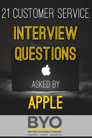 21 customer service interview questions 1 who is the ceo of apple