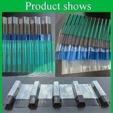 corrugated polycarbonate roof panel grade b clear corrugated sheet anti roof panel for greenhouse roofing how