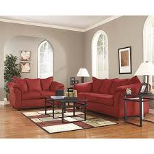 Living room furniture sets Fabric Signature Design By Ashley Darcysalsa Sofa And Loveseat Room View Rentacenter Rent To Own Living Room Sets For Your Home Rentacenter
