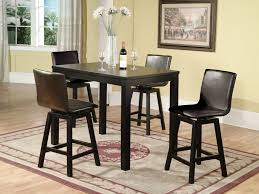 black dining room table and chairs beautiful high kitchen table set better tall kitchen table sets