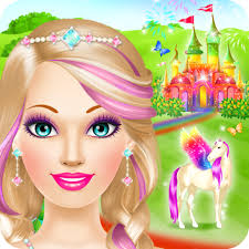 amazon magic princess salon spa makeup and dress up games for s app for android