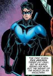 "Pin on Richard ""Dick"" Grayson"