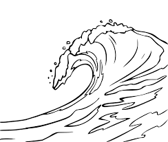 Ocean Waves Coloring Pages Getcoloringpagescom