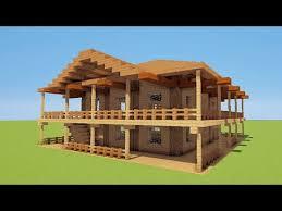 minecraft tuto ment faire une maison de luxe de plage
