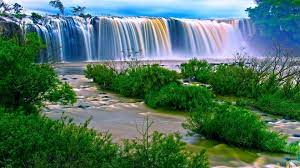 waterfall, Nature, River, Landscape ...
