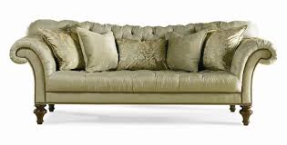 traditional sofas with wood trim fanciful sherrill 5259 fully tufted sofa nailhead and interior design 34
