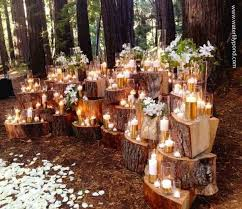 romantic outdoor wedding centerpieces ideas 06
