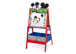 art desks and easels for toddlers delta children s s disney minnie mouse wooden double