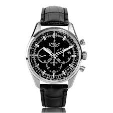 zenith el primero watches the watch gallery zenith el primero 36 000 vph classic automatic stainless steel mens watch 03 2080 400 21