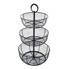 fruit baskets countertop storage the home depot 3 tier basket 3 tier basket storage 3 tier basket