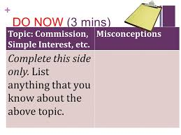 commission simple interest markup profit ppt video online  2 do