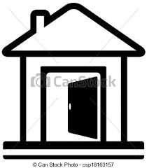 Open Front Door Drawing Cartoon door Open Front Door Drawing P