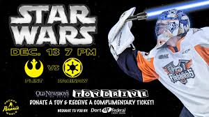Firebirds Host Saginaw Friday For Star Wars Night Final