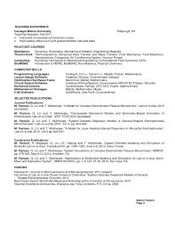 Sample Resume In Ieee Format Best Of Mechanical Engineering Resumes Entry Level Resume Samples Unique