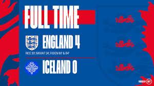 England vs Iceland 4-0 – Highlights ...