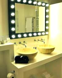 Bathroom Vanity Lighting Delectable Vanity Mirrors With Lights Black Vanity Mirror Bathroom Vanity