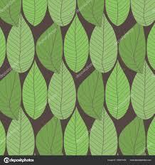 Eenvoudige Naadloze Organische Behang Met Een Patroon Van Groene