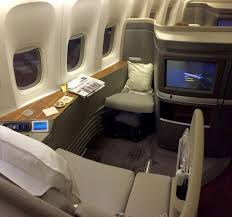 Flight Review Cathay Pacific First Class L A To Hong Kong