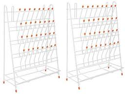 2Pcs / Set 32 <b>Holes</b> Laboratory Test Tube Rack <b>Large Capacity</b> ...