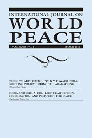 international journal on world peace  2016