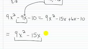algebra i help factoring practice factoring trinomials i leading coefficient not 1 you