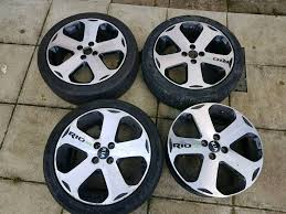 Kia rio 3 alloy wheels 17 Inch | in North Shields, Tyne and Wear ...