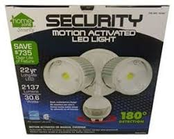 O Home Zone 64321 LED Outdoor Security Floodlight