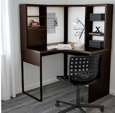 micke black brown corner desk only use whiteboard markers on a whiteboard