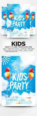 ideas about flyer template flyer design kids party flyer template psd