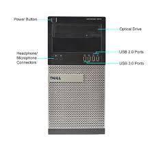 Dell Optiplex Comparison Chart Refurbished Dell Optiplex 9010 Desktop Pc With Intel Core I7