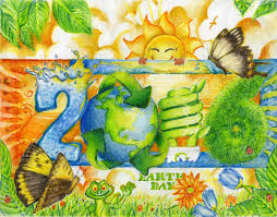 earth day painting pictures