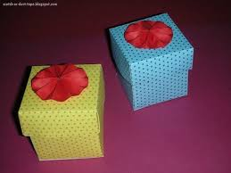 Decorating Boxes With Paper Paper Boxes How To Fold An Origami Box Decorating Papercraft 6