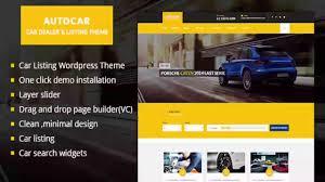 Car Dealer Wordpress Theme Auto Car Themeforest Website