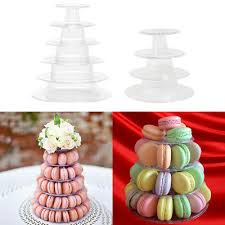 details about macaron cake stand holder round tower display birthday wedding table decor