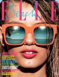 beautiful victoria s secret dutch model bregje heinen modeling for the cover of elle netherlands magazine modeling