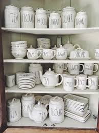 This bronze mug holder is made out of high quality durable metal with a smooth bronze finish touch, the 3 tiered racks holds 15 coffee or tea mugs bottles and glasses. Six Tips For Finding Rae Dunn Pottery My 100 Year Old Home