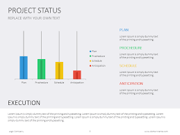 Project Status Slide Project Status Powerpoint Slide Presentationdesign