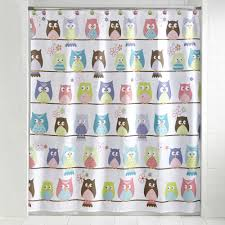 Owl Curtains For Bedroom Mainstays Whooty Hoot Decorative Bath Collection Shower Curtain