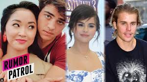 I really learned about conserving. Noah Centineo Lana Condor Officially Dating Selena Gomez Over Justin Bieber Rumor Patrol Youtube