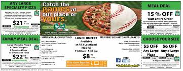 table round table pizza san jose ca pizza s round tableus new ucclubhouseud concept serving