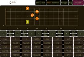 Chord Chart Builder The Best Guitar Chord Software Chord Tools On The Web