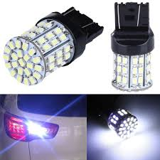 W21 5w Brake Light Details About 2x T20 7443 W21 5w 1206 Led 50 Smd Car Tail Stop Brake Light Bulb Lamp White 12v